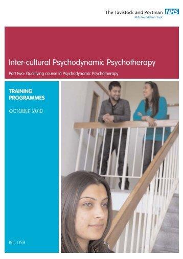 Inter-cultural Psychodynamic Psychotherapy