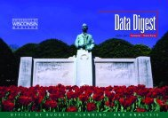 2000-01 Data Digest - Academic Planning and Institutional ...