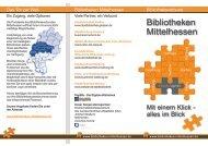 Bibliotheken Mittelhessen - IMeNS - Lahn-Dill-Kreis