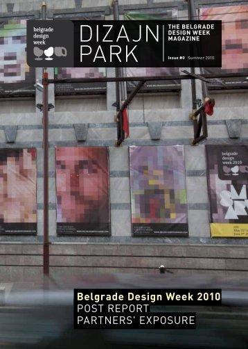 Dizajn Park Magazine 2010 - Belgrade Design Week