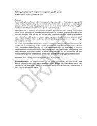 Defining Place-keeping - Interreg IVB North Sea Region Programme