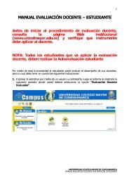 manual evaluación docente - Universidad Colegio Mayor de ...