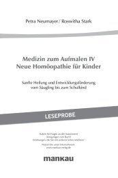 Medizin zum Aufmalen IV Neue Homöopathie für ... - Mankau Verlag