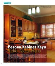 Pesona Kabinet Kayu - Reno Concept Sdn. Bhd.