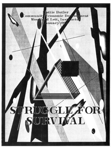 Struggle for survival - SNHU Academic Archive