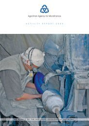 2009 AKAM Annual Report - Aga Khan Development Network