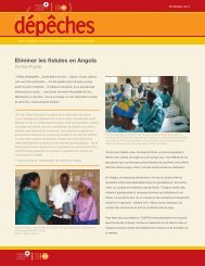Eliminer les fistules en Angola - Campaign to End Fistula