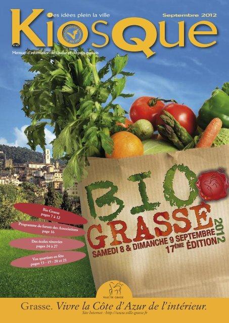 Kiosque de septembre 2012 - Grasse