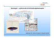 Geologie – optimierte Erschließungskonzepte - GGSC Seminare