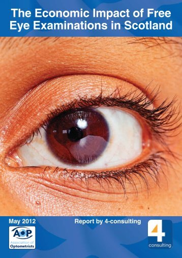 The Economic Impact of Free Eye Examinations in Scotland