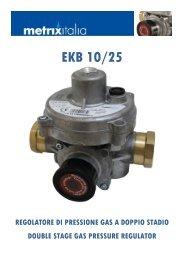 Regolatore EKB10/25 - Watergas