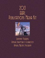 AAPL Media Kit - American Association of Professional Landmen