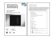 Bedienungs- & Montageanleitung Infarotheizkörper.pdf - Traumofen