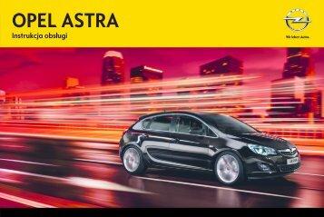 Opel Astra J 2012.5 – Instrukcja obsługi – Opel Polska