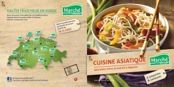 CUISINE ASIATIQUE - Marché Restaurants