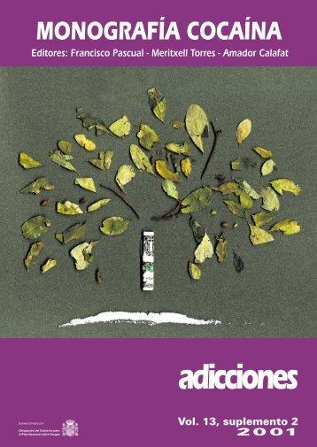 Monografía Cocaína - Plan Nacional sobre drogas