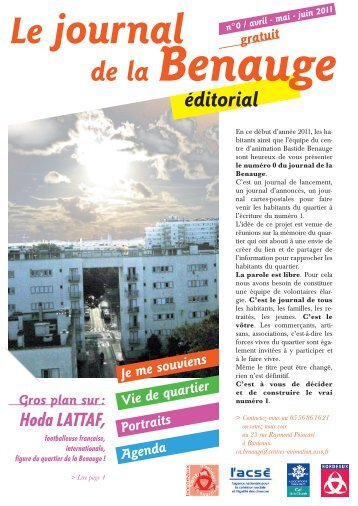 Journal Bastide Benauge n°00 - Association des centres d ...