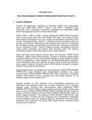 TOR Pelatihan SIM KMP Tahap II - P2KP