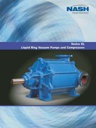 Vectra XL Liquid Ring Vacuum Pumps and Compressors
