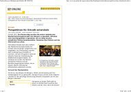 Artikel RP-Online vom 29.06.2011 - Zukunft Erkrath
