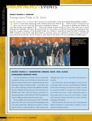Pages 8 – 18: Union News and Events - IUPAT