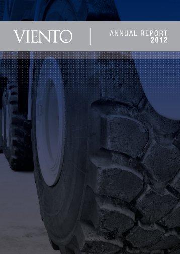 ANNUAL REPORT 2012 - Viento