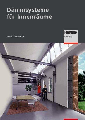 Dämmsysteme für Innenräume - Foamglas