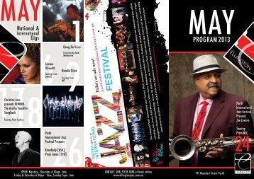 May Program - The Ellington Jazz Club