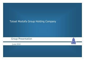 Real Estate Future Growth - Talaat Moustafa Group