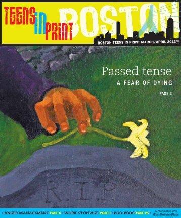 Passed tense - Teens in Print