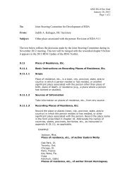 6JSC/BL/6/Sec final - Joint Steering Committee for Development of ...