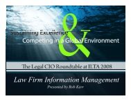 Law Firm Information Management f g - eSentio Technologies