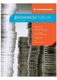 ¯ko.forum nr 9-04 - Samfunnsøkonomene