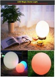 LED Magic Dome Waterproof(Melody-Lighting) - Melody-lighting.com