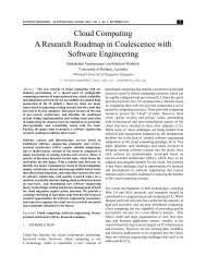 Cloud Computing A Research Roadmap in Coalescence with ...