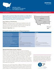 MONTANA - The Institute for Children, Poverty, and Homelessness