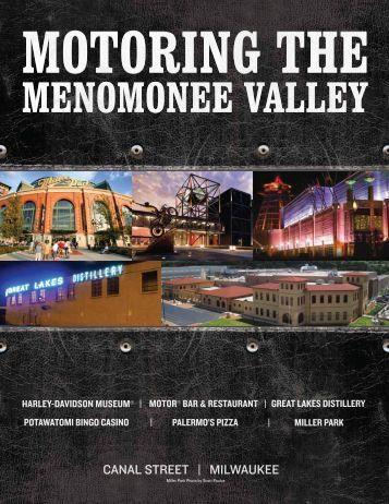 Motoring the Menomonee Valley itinerary