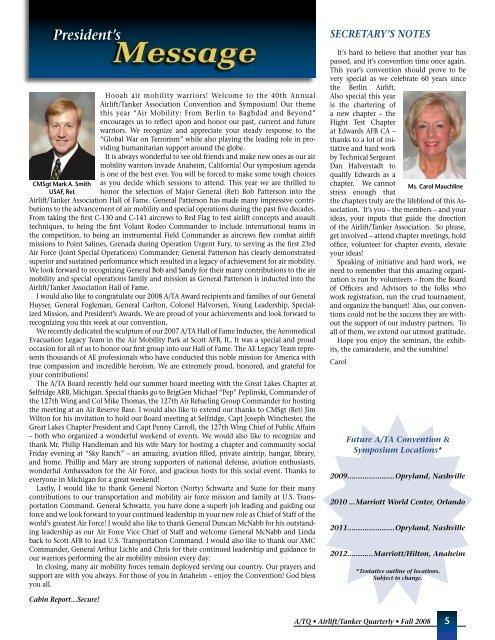 Contents - Airlift/Tanker Association