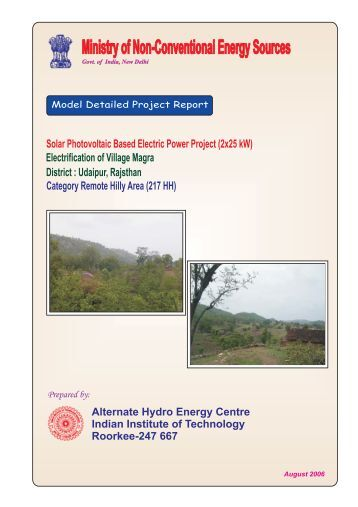Electrification of Remote Hilly area Village Magra (217 HH)