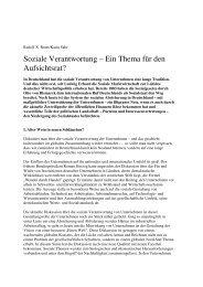 Soziale Verantwortung – Ein Thema für den ... - Rudolf X. Ruter