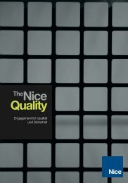 Quality TheNice - Nice SpA