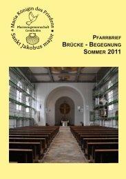 Pfarrbrief Ausgabe 19 - Sommer 2011 - Pfarreiengemeinschaft ...