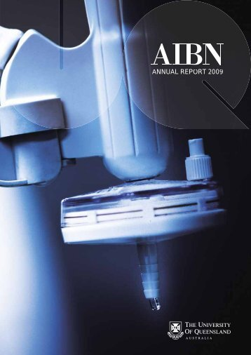 Download the 2009 AIBN Annual Report. - Australian Institute for ...