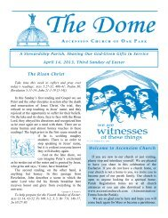 April 14, 2013 - Ascension Catholic Church