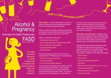 FASD Leaflet 2013 - Western Health and Social Care Trust