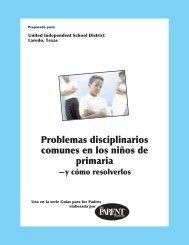 Problemas disciplinarios comunes en los niños de primaria - United ...