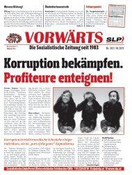 Die Sozialistische Zeitung seit 1983 - SLP