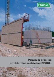 Pokyny k práci se strukturními matricemi RECKLI - RECKLI GmbH ...