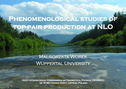 Phenomenological studies of top-pair production at NLO