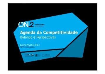 Agenda da Competitividade - O Novo Norte